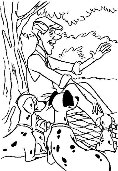 Coloring Pages 101 by 101 Dalmatians Coloring Pages Coloringpages1001