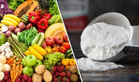fruit  vegetables   washed  baking powder