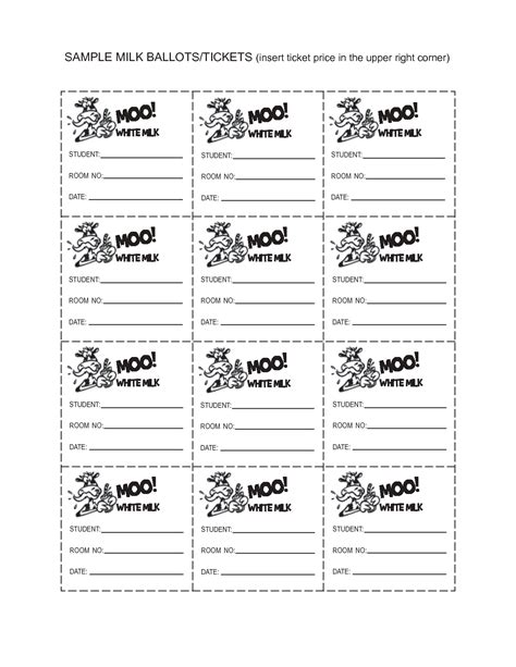 ballot word template voting ballot template for word just b cause