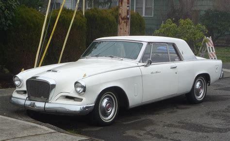 Curbside Appeal curbside classic 1962 studebaker gran turismo hawk a
