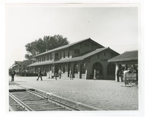 atchison topeka santa fe railway company depot clovis