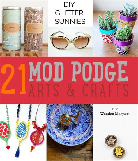 mod podge crafts for mod podge crafts cool projects ideas diy ready