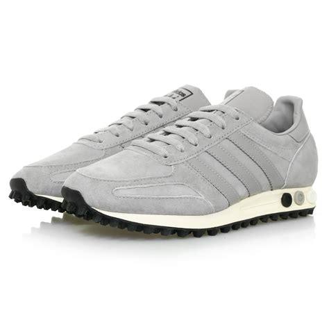 Adidas Original Adidas Trainer Grey adidas originals store la trainer og grey shoe