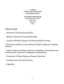 Portfolio Reflection Essay Exle by Portfolio Template Ebook Database