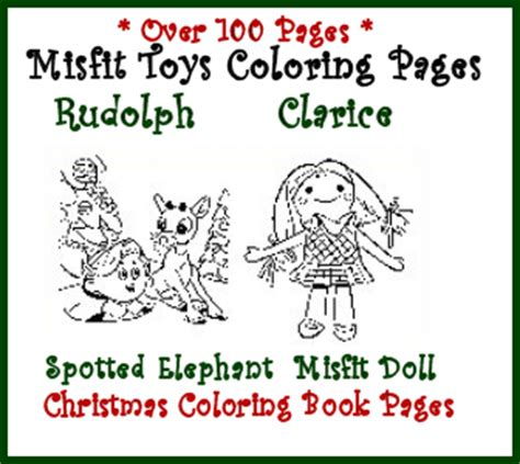 rudolph and the island of misfit toys coloring pages coloring page rudolph the red nosed reindeer
