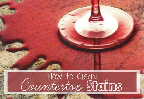 How To Get Stains Out Of Granite Countertops by How To Remove Countertop Stains Ask