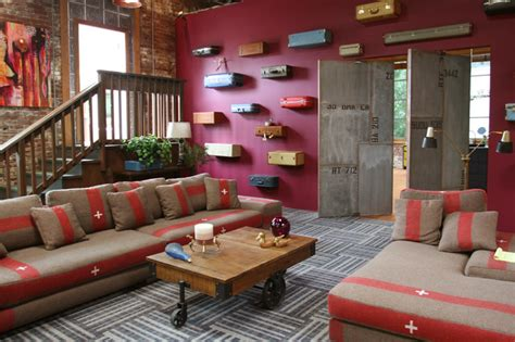 Living Room Portland | real world portland industrial living room portland