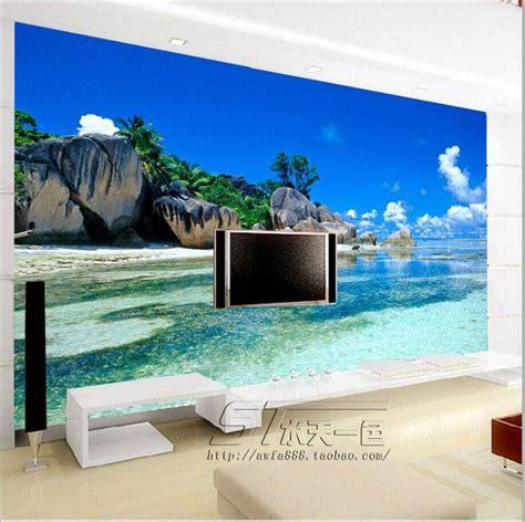 3d mural wallpaper scenery for living room tv background free shipping large mural living room tv background