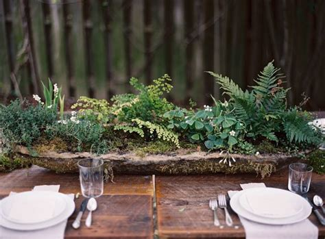 fern decor a delicate tuscan inspired wedding ii once wed gardens