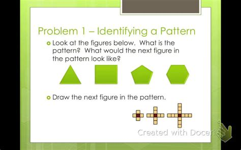 pattern expressions math algebra 2 patterns and expressions 1 1 youtube