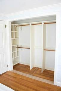 How To Remove Sliding Closet Doors Replacing Bi Fold Closet Doors With Curtains Our Closet Makeover Challenge Week Alcove And