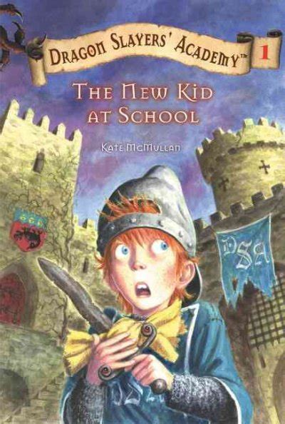 the new kid books slayers academy series by kate mcmullan book