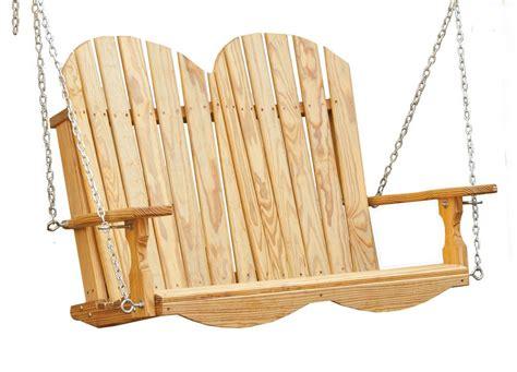 adirondack swings adirondack 4 swing custom barns and buildings the