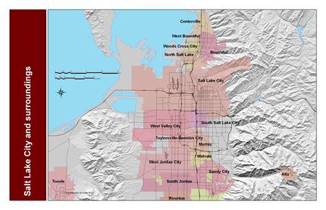 map salt lake city surrounding area maps update 700628 salt lake city tourist map 9