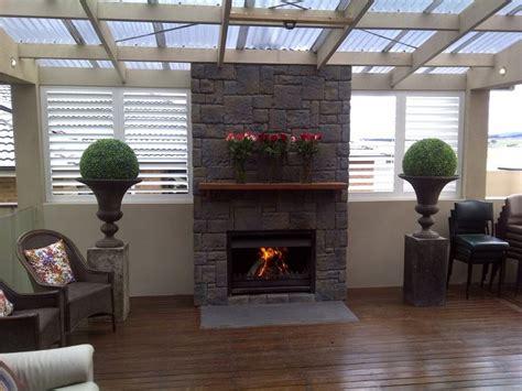 camino prefabbricato grezzo fireplace cladding projects
