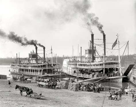 war eagle boats vicksburg ms shorpy historic picture archive old man river 1906