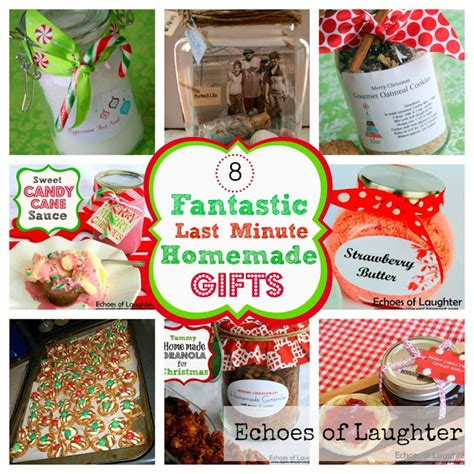 Last Minute Handmade Gifts - echoes of laughter 8 fantastic last minute gifts