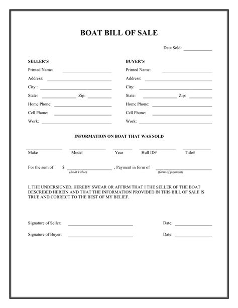 free boats in arkansas bill of sale form arkansas boat sle resumes cover for