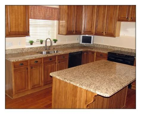St Cecilia Light Granite Kitchens Santa Cecilia Granite Countertops Santa Cecilia Light Granite Kitchen Countertop With An Eased