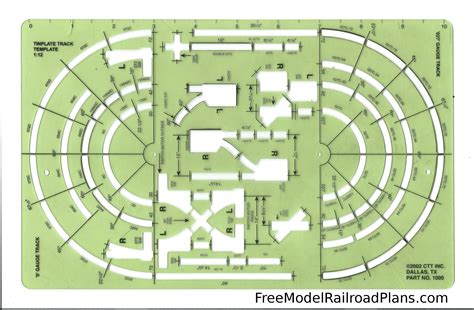 Model Railroad Track Templates related keywords suggestions for model track layouts