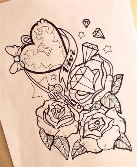 cute girly tattoos designs girly anchor tattoos girly anchor drawings