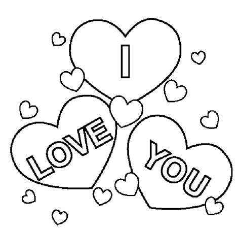 free printable coloring pages that say i love you i love you coloring pages love pinterest