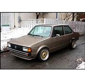 Brown Volkswagen Jetta Coupe On Gold BBS RS  Zone