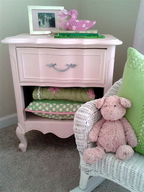 goodwill furniture makeovers before after goodwill bedside table goes powder pink