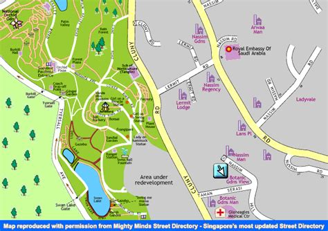 Singapore Condo Apartment Pictures Buy Rent Botanic Botanical Gardens Singapore Map