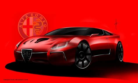 alfa romeo montreal concept alfa romeo montreal concept by keegancheok on deviantart
