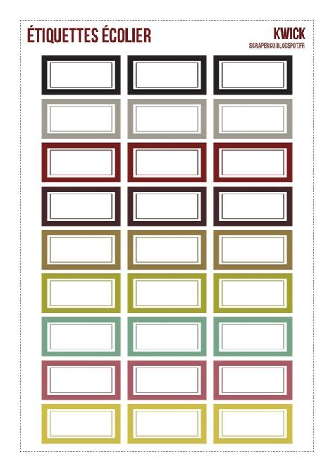 storage label templates free printable labels label free printable labels printable labels and free