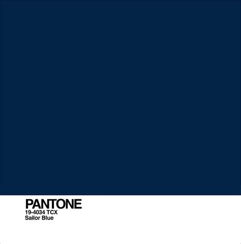 Sailor Blue sailor blue sailor blue color 2018 pantone