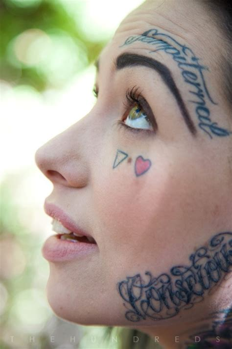 cool face tattoos on tattoochief