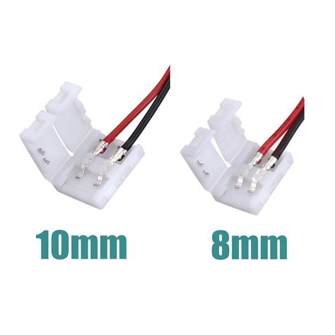 wire to wire power connector 2 pins power connector adaptor for 3528 5050 led