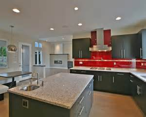 red tiles for kitchen backsplash red glass subway tile home design ideas pictures remodel