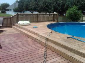pool deck decks and handrail information