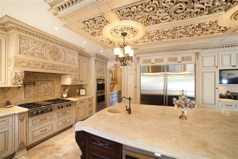 Ornate Kitchen Cabinets Astounding Ornate Kitchen Traditional Kitchen Other Metro By Wl Interiors