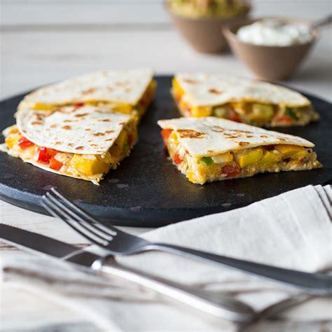 bunte stehlen bunte gem 252 se quesadillas mit guacamole