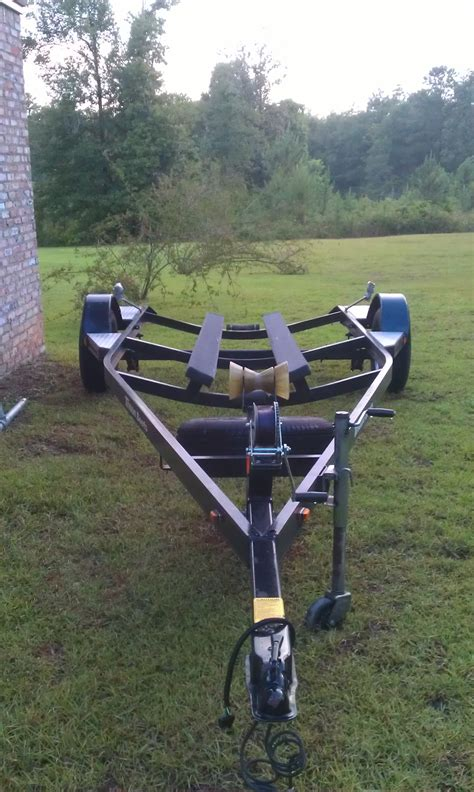 19 ft boat trailer 16 19 ft triton bass boat trailer 1250 00 the hull truth