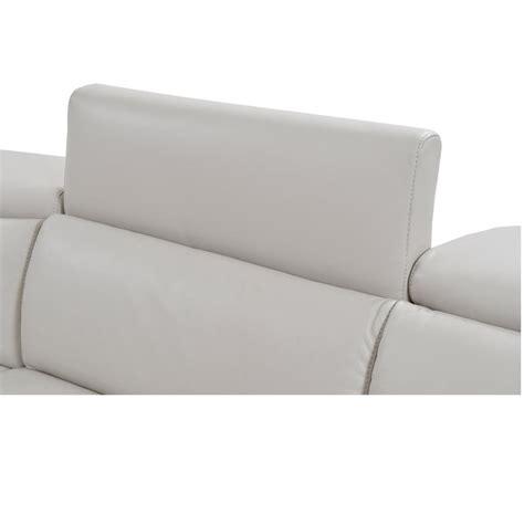 gray leather sleeper sofa bay harbor light gray power motion leather sofa el