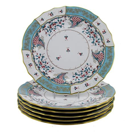 How To Decorate Dinner Plates by Hungarian Porcelain Herend Cornucopia Decor Dinner Plates