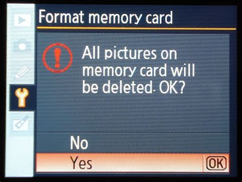 memory card template nikon d40 tips nikon d40 how to format the memory card