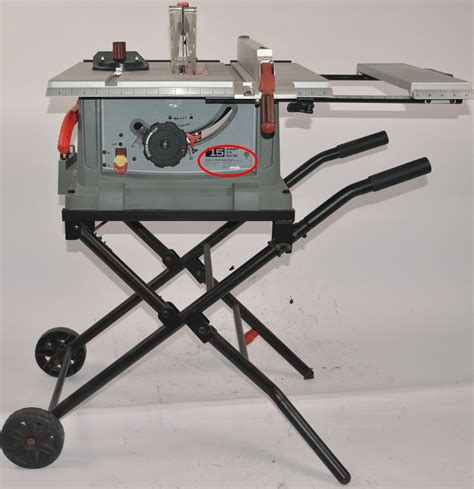 craftsman portable table saws made by rexon recalled due