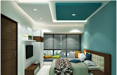 Blinds Bedroom False Ceiling Designs For Bedroom