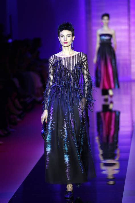 Catwalk To Carpet In Giorgio Armani by Giorgio Armani Prive Runway Fashion Week Haute