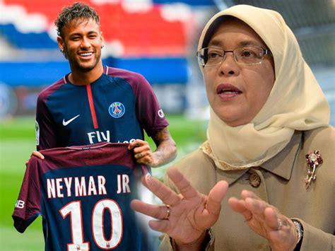 biography of halimah yacob halimah vs neymar how do the potentially priciest