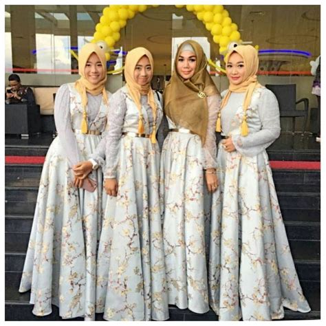 Seragam Bridesmaid Seragam Keluarga Atau Bridesmaid Custom Di Ayu Dyah Andari