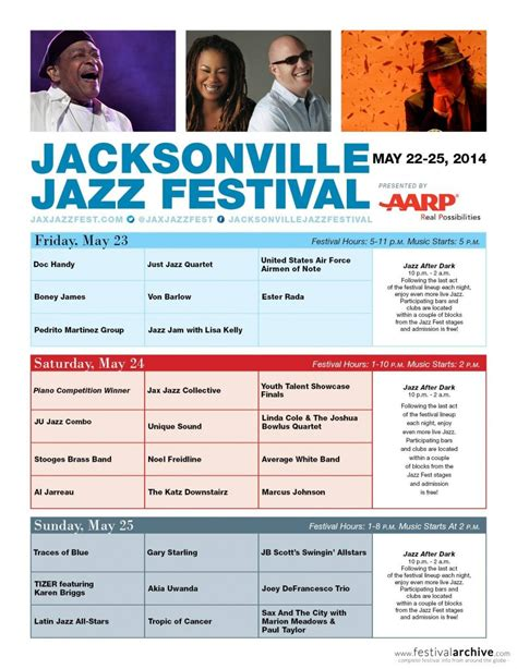 country music festival jacksonville 2014 lineup jacksonville jazz festival 2014 festival archive