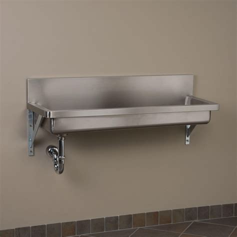 stainless steel wall mount commercial sink stainless