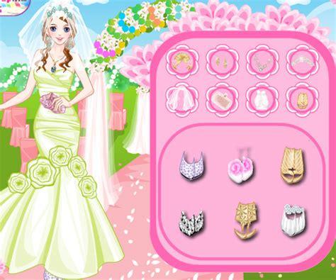 wedding dress up games online free list